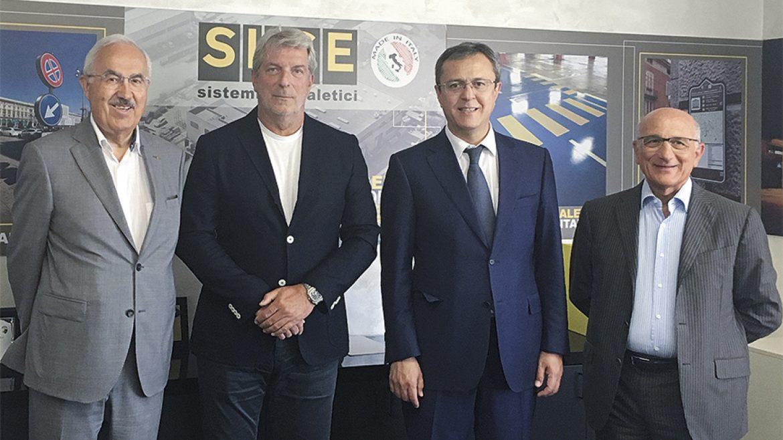 L'ambasciatore dell'Uzbekistan in visita alla SI.SE